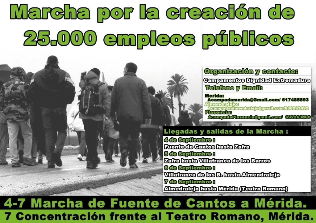 marcha empleos públicos