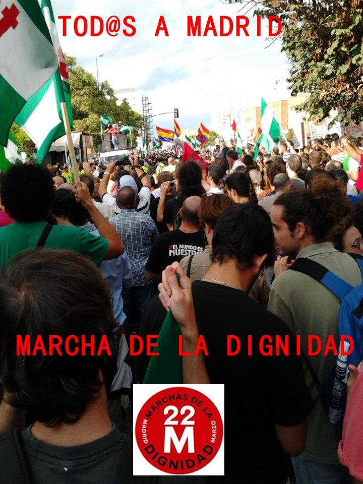 marcha a madrid